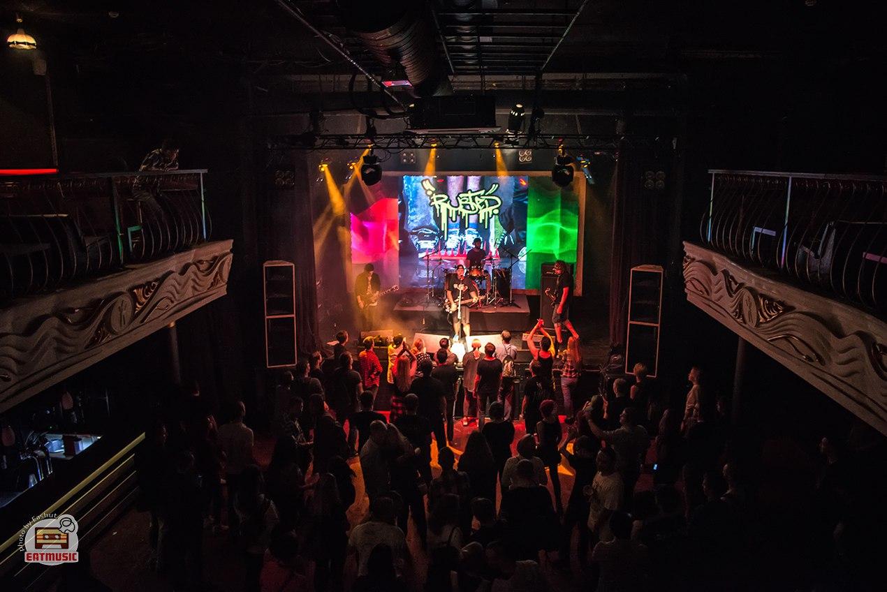 Концерт группы RUSTED в клубе Театръ
