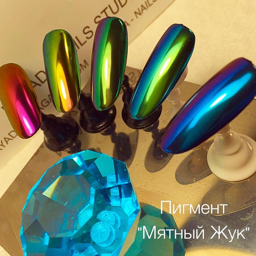 Ногти пигмент жук
