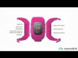 Инструкция умных детских GPS часов q50