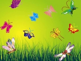 Логопедическая распевка Бабочки