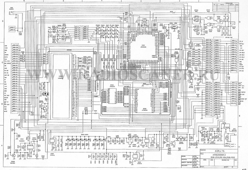 Електрическа схема на свързване на процесор