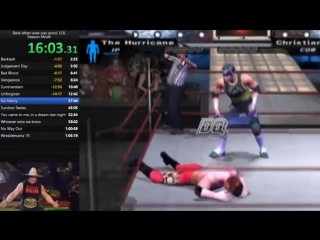 WWE Smackdown! Here Comes the Pain Season Mode Speedrun - 3659 (WR)_mp4 (640x360)