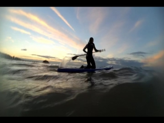 My first Wave-SUP experience =)
