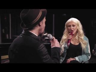 Christina Aguilera & Colin Smith - Say Something (Masterclass 2016)