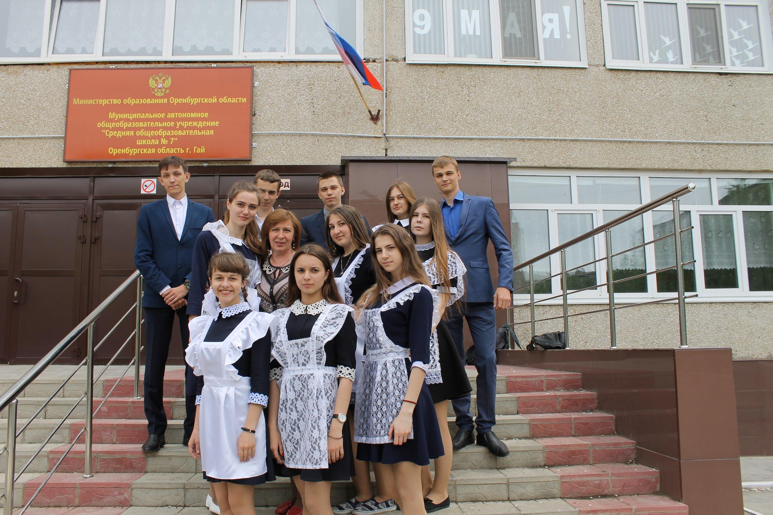 схема города гай оренбургской области