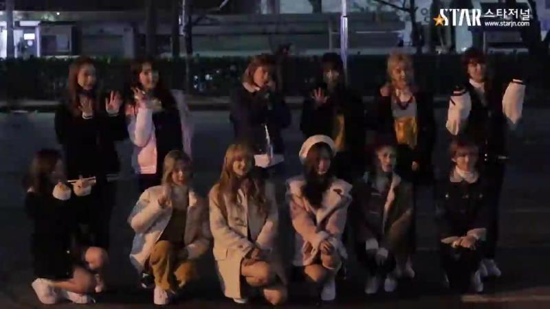 [스타영상] 우주소녀(WJSN) 뮤직뱅크 867회 아침리허설 출근길