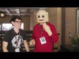 LEGO-человечек в реальной жизни