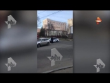 Новое видео с места нападения на приемную УФСБ в Хабаровске