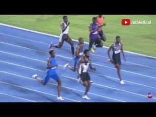 Miguel Francis wins Men's 200m UTech Classics Kingston 2017