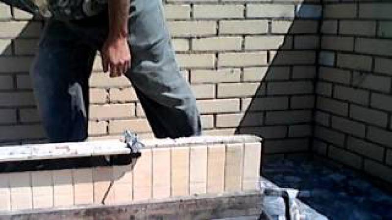 Cупер быстрая кладка кирпича для Стена 31.Мастер класс от Nivok111