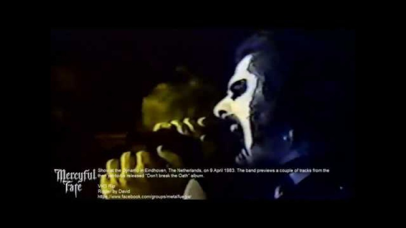 Mercyful Fate Live At Dynamo Eindhoven Netherlands 1983 VHS Rip 720p HD