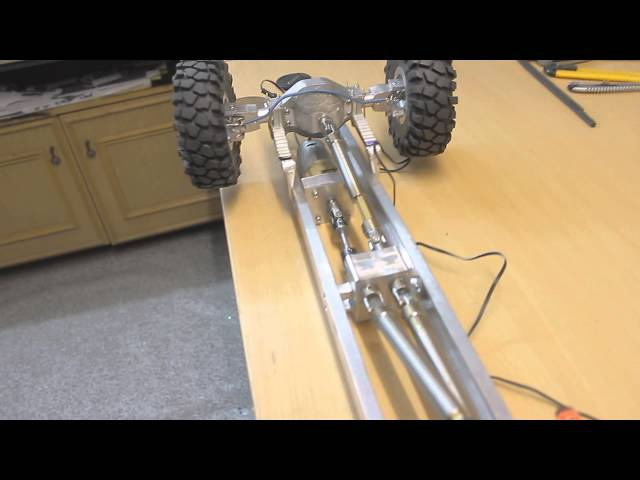 Kraz 255 1:10 RC truck shafts and cardans test by Wnukulaboratory :)