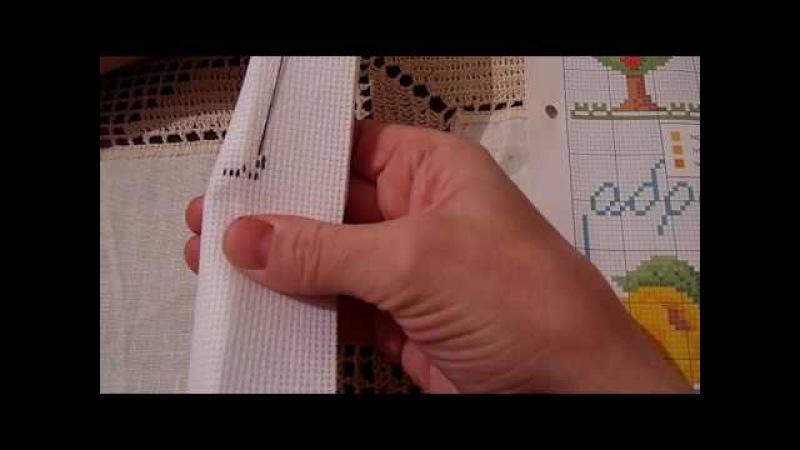 №3. Алфавит. Строчные буквы. Идеальная изнанка. Уроки вышивания крестиком
