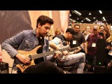 NAMM 2017 Plini &amp Aaron Marshall Live At The Dunlop Booth -Pt 1