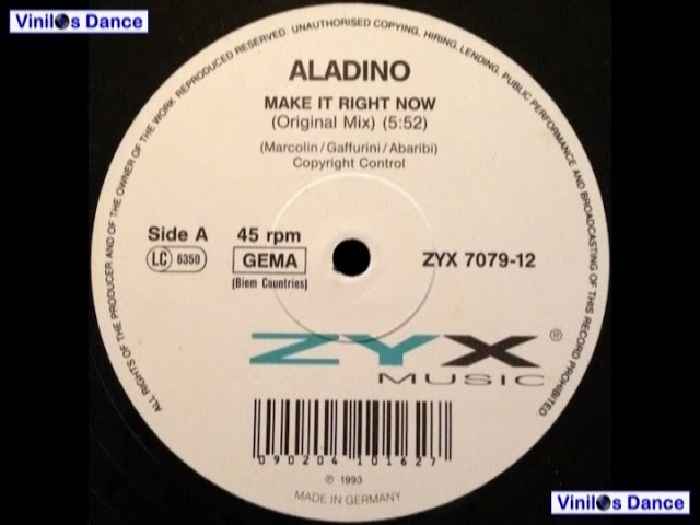 Make It Right Now (Original Mix)-Aladino-