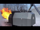 Испытание пеллетной горелки ECO PALNIK Uni Max 1,5 мВт. Купить горелку ECO PALNIK в Днепре.