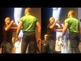 Conor McGregor vs Nate Diaz (UFC 202) Faceoff Staredown, Joanna Jedrzejczyk vs Claudia Gadelha 2