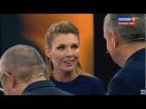 Скабеева и Евгений Попов пилят упоротого украинского гостя