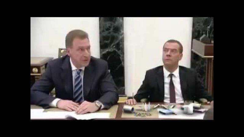 Отчёт Шувалова и упоротый Медведев