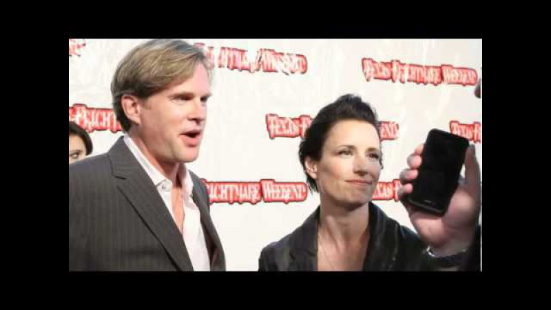 Texas Frightmare Weekend 2011 red carpet SAW Cary Elwes, Shawnee Smith, Costas Mandylor