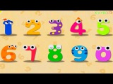 Magic Numbers 1 to 10 (BabyBus) - 123 Learning Apps for kids