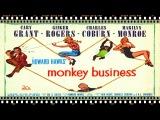 Monkey Business 1952 Cary Grant, Ginger Rogers, Marilyn Monroe, Charles Coburn