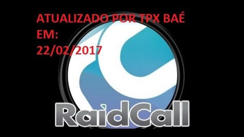 RAIDCALL 8 1 6 1 0 EM PORTUGUÊS TPX BAÉ- ATUALIZADO-22-02-2017