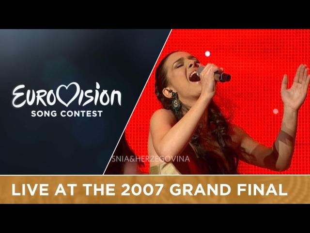 Marija Sestic Rijeka Bez Imena Bosnia Herzegovina Live 2007 Eurovision Song Contest
