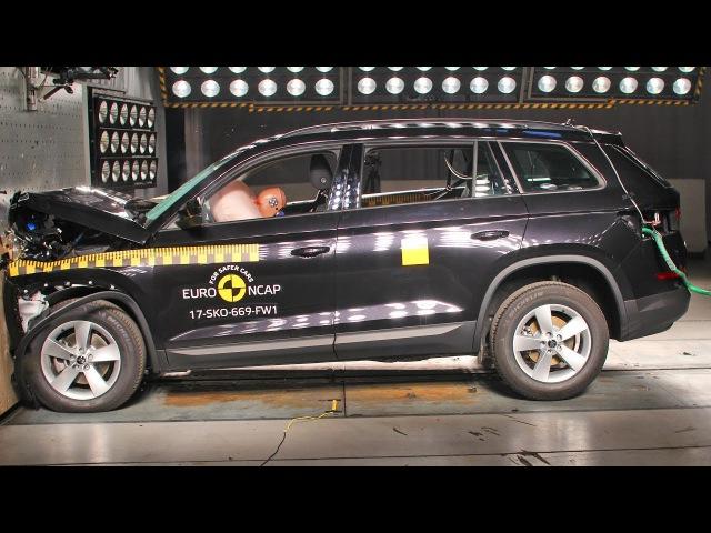 Skoda Kodiaq (2017) Crash Test EuroNCAP