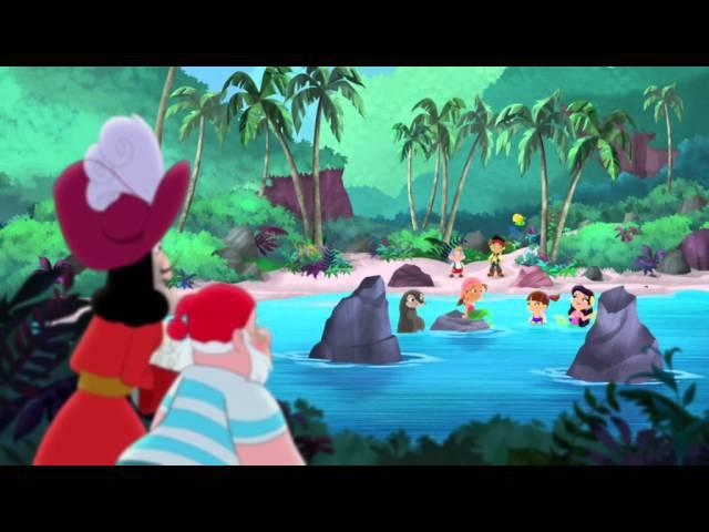 Джейк и пираты Нетландии - Песня русалки / Сокровище приливов - Серия 12, Сезон 2