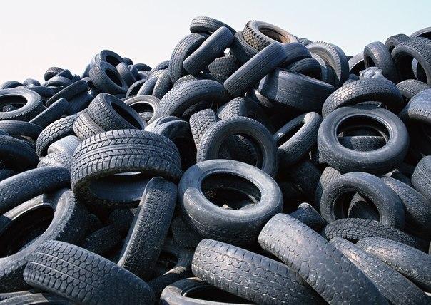 Бизнес-идея: переработка шин  Только представьте, в Москве ежегодно