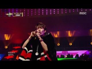 Hoya Dongwoo (Infinite) Choa (AOA) - Tell Me [MBC Gayo Daejun 2016.12.31]