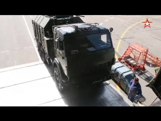 Ан-124 «Руслан» доставил ракетные комплексы «Искандер» в Таджикистан: кадры разгрузки(1)