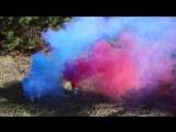 Новая цветная дымовая шашка ДШР-2