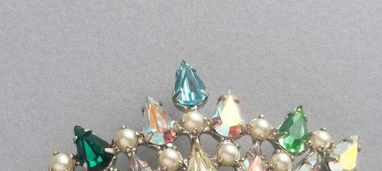 Купить Винтажная брошь от B. David из серии «Family Crown» - брошь винтаж, брошь  винтажная 262f4a1e95c