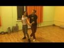 Бачата. Урок 22.11.16  Bachata  S'танция  Тарасенко Евгений и Соловская Олеся