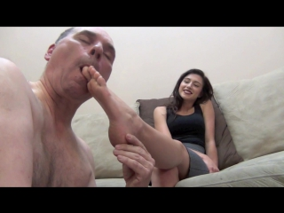 Nikki next - eat my bare feet foot worship smelling fetish smother domination trample trampling slave licking sniffing