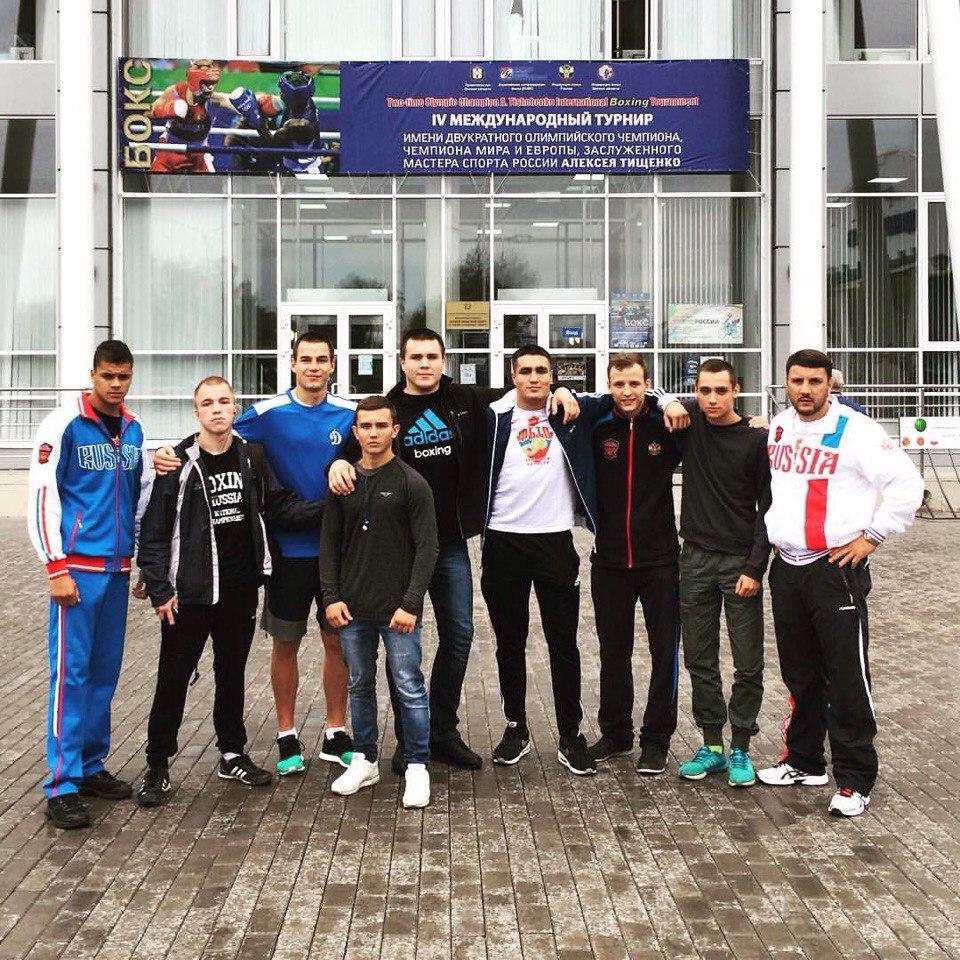 Орловские боксеры успешно выступили в Омске
