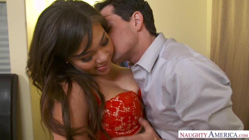 Cassidy Banks & Tyler Nixon [HD 1080, All Sex, Interracial, Ebony, Big Ass, Big Tits, Brunette, Cum on Tits]