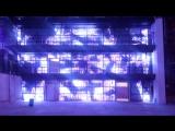 Настенный мультимедийный комплекс объемом 64000 пикселей_