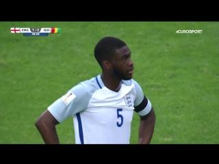 Чемпионат мира (до 20 лет). Курьезный гол в ворота сборной Англии.