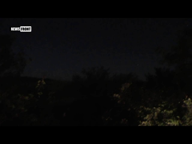 ВСУ обстреливают окраины Донецка осколочно фугасными снарядами