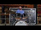 Simon Scheibel on Pearl Masters Maple Complete MCT