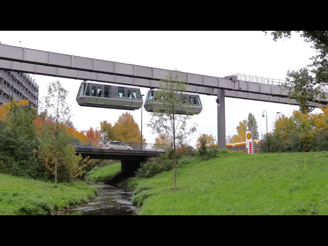 Düsseldorf International Airport H Bahn SkyTrain Monorail