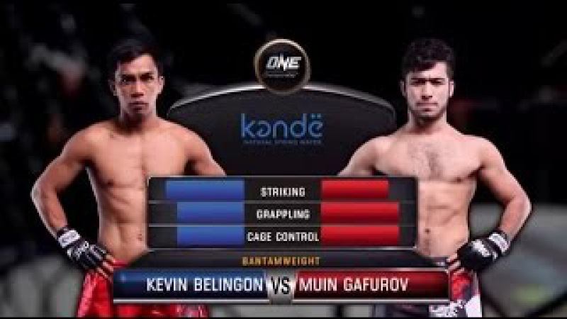 ONE Championship, Kevin Belingon Vs Muin Gafurov [ ONE FC 48 ] ONEFightNight: Yangon / 07 Oct 2016