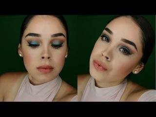 Jane Iredale Aqua Silk Eyeshadow Look | Jennifer Gomez