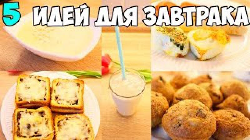 5 ОЧЕНЬ вкусных завтрака ♥ Что приготовить на завтрак семье? ♥ ТОП блюд 5 ♥ Stacy Sky