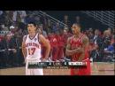 Derrick Rose vs Jeremy Lin PG Duel 2012.03.12 - LINSANITY Take On The MVP!