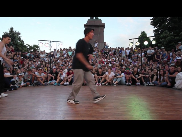 Top9Crew NORD DIAMOND RUSLAN VS GUN UZEE ROCK СИЛА И МОЩЬ 1 2 YALTA SUMMER JAM 2017