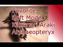 Favorite Soft Model / Kazunari Araki / Archaeopteryx - Review 148 (german)